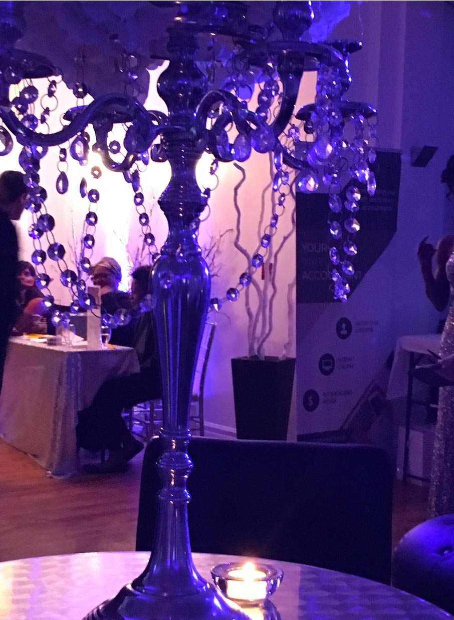 Glitzy-table-candelabra-table-decoration-at-Grand-Winter-Ball