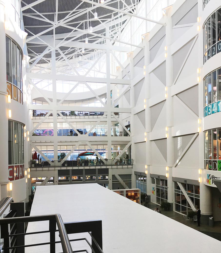 Interior-architecture-of-Showplace-Exposition-building-atrium-at-High-Point-Market