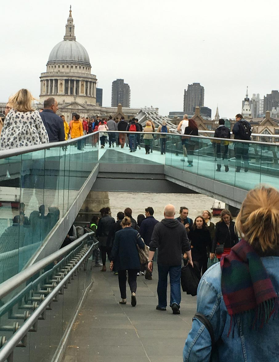 London-Design-Festival-glass-walkways-near-Tate-Modern