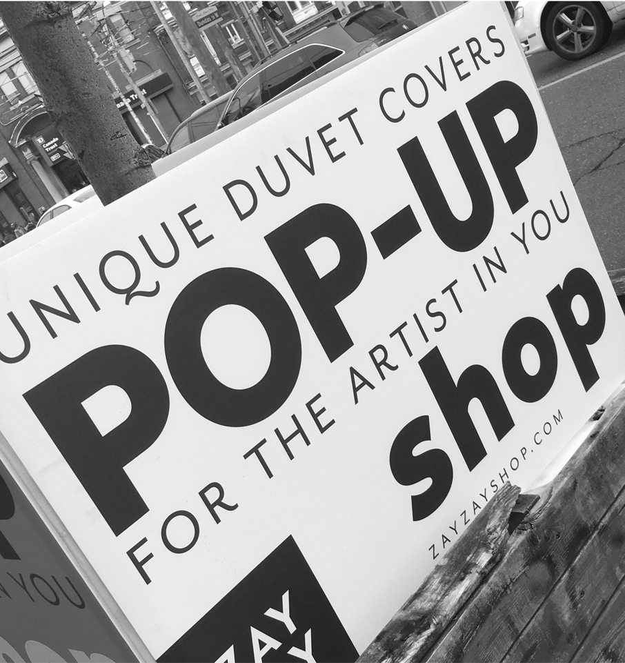 Ossington-Pop-Up-Sign-Duvet-Covers-for-Artist-in-You