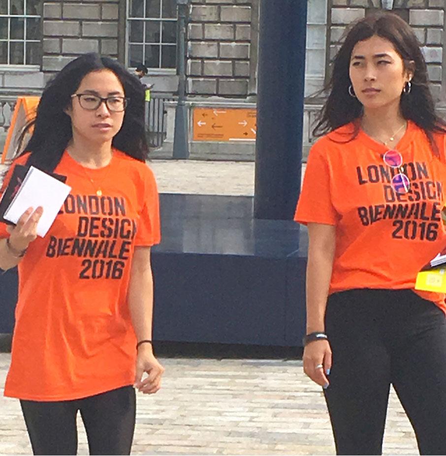 Two-volunteers-at-London-Design-Fair