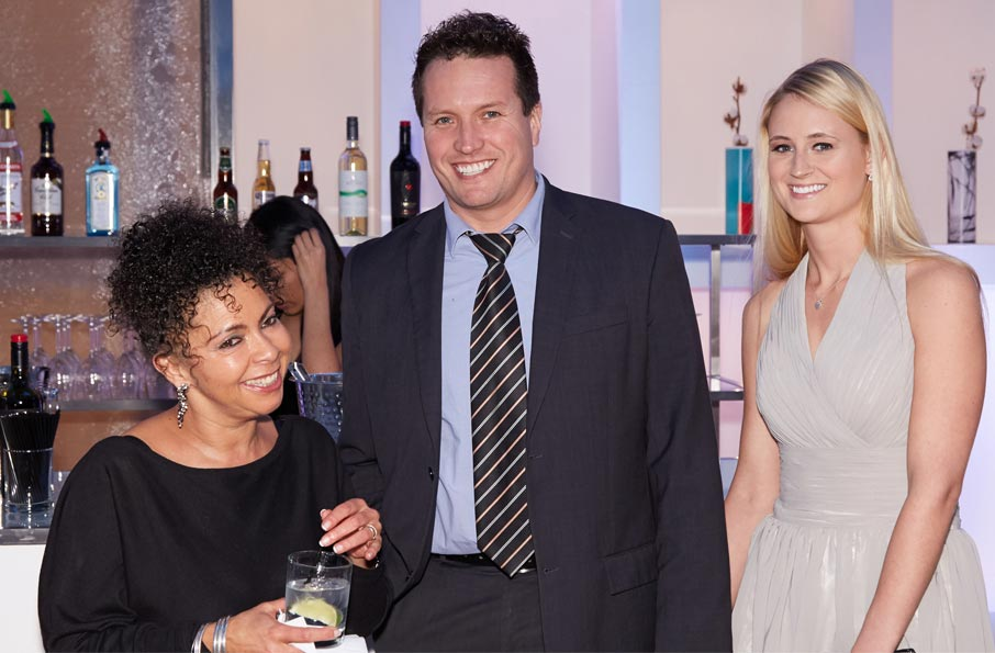 ZZ-B-Launch-party-Sharon-Lockwood-with-Hector-Sanchez-and-Sarah-Hollasch