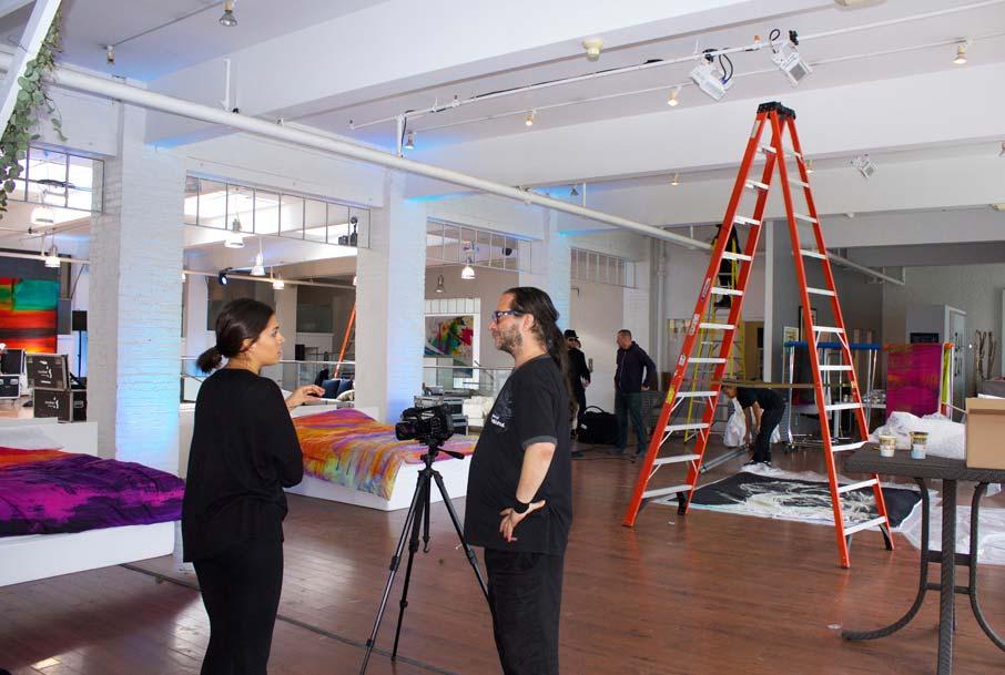 ZZ-B-Launch-setup-Jess-with-videographer-Steve
