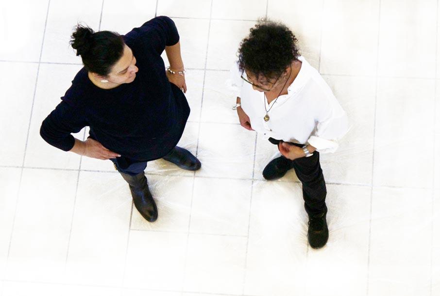 ZZ-B-overhead-Donna-Sharon-discussing-design
