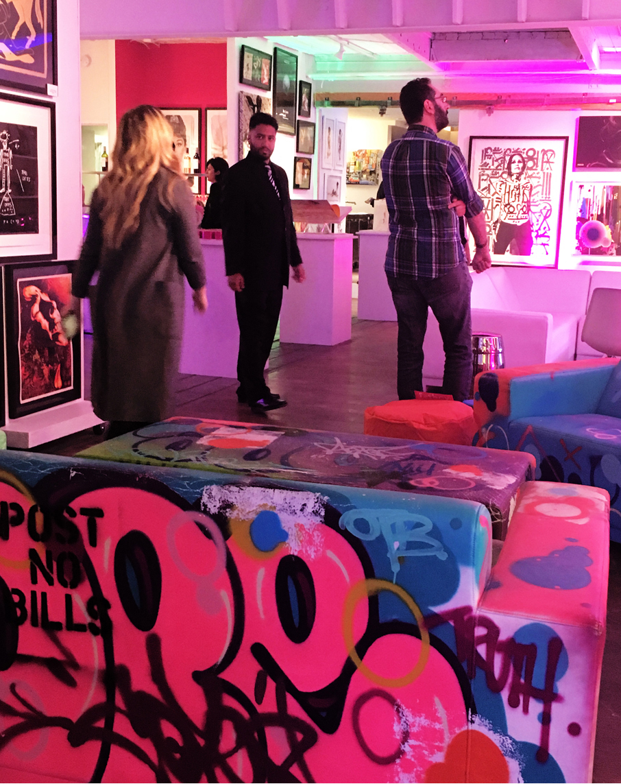 ZZ-B-Struck-Art-Gallery-Launch-Party-Grafitti-Furniture