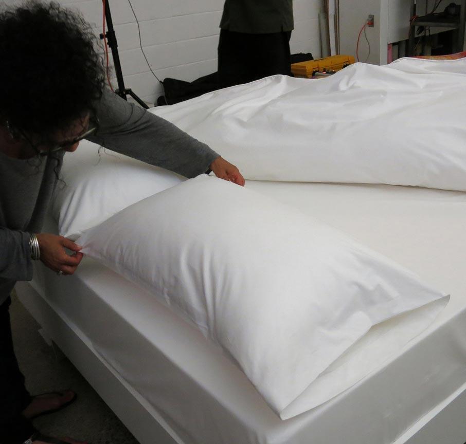 ZZ-B-photoshoot-prepping-pillows