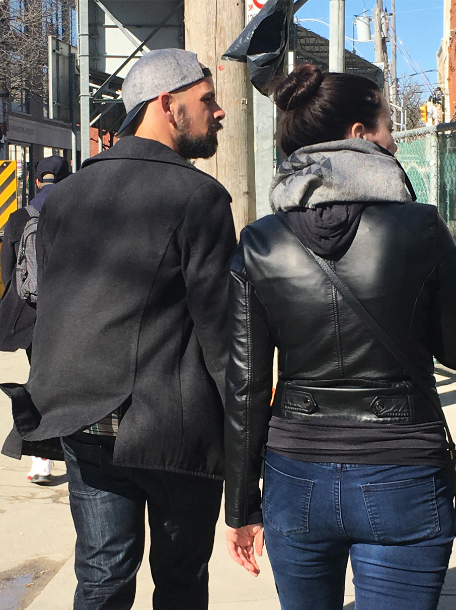 ZayZay-Ossington-Pop-Up-Couple-Walking-Along-Street