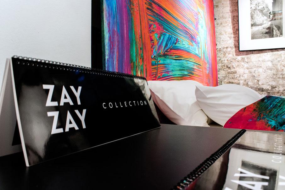 ZayZay-catalogue-on-display-at-popup-in-Arta-gallery