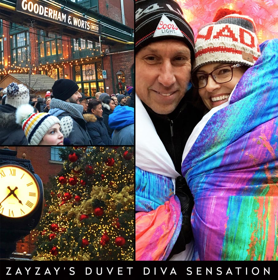ZayZay-duvet-diva-sensation-photo-contest-at-Toronto-Christmas-Market