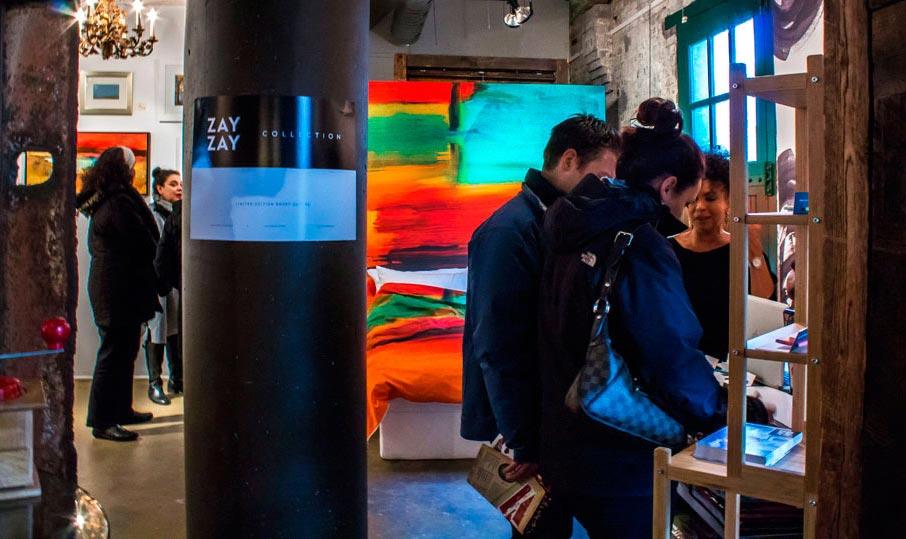 ZayZay-popup-visitors-at-Arta-gallery