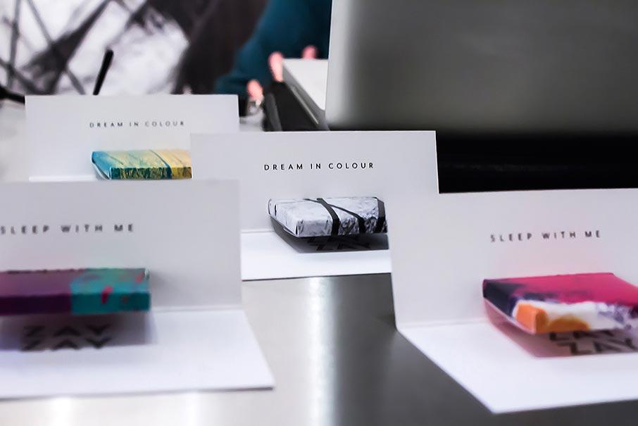 ZayZay-promo-chocolates-wrapped-in-ZayZay-designs-message-dream-in-colour