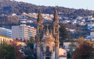 Cathedral-in-Guimaraes-Portugal