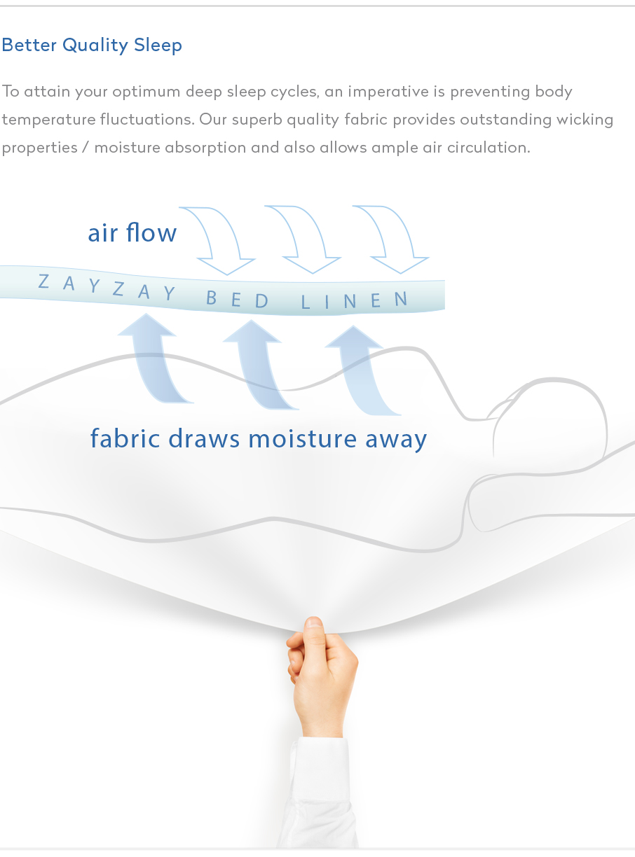 ZayZay-bed-linen-allows-air-flow-fabric-draws-moisture-away
