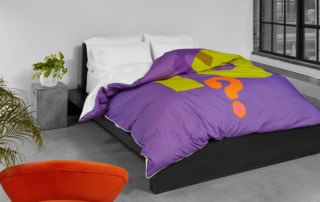 ZayZay-modern-home-decor-bedroom-purple-duvet-cover-orange-chair