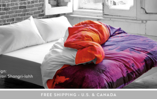Gray-room-with-ZayZay-Saffron-Shangrilahh-duvet-cover