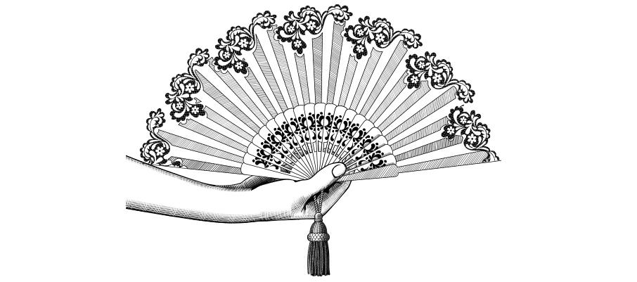 Flamenco-fan-with-arm-illustration