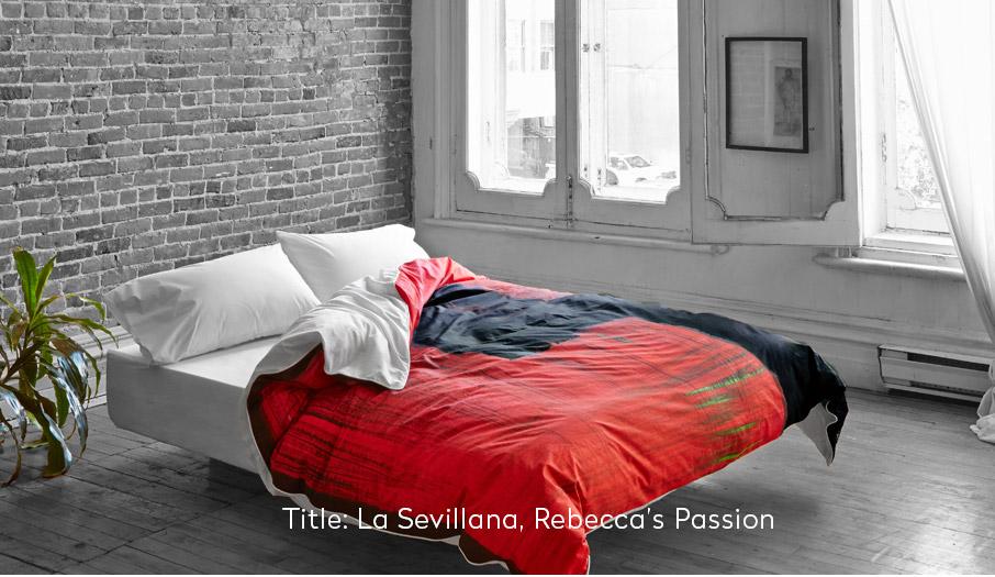 ZayZay-La-Sevillana-duvet-cover-on-bed-in-grey-bedroom-bright-daylight