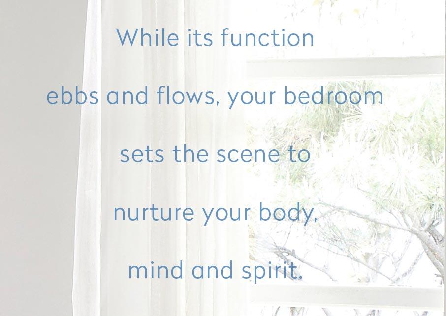 Words your bedroom nurtures body mind and spirit